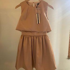 Topshop Babydoll Pink Dress